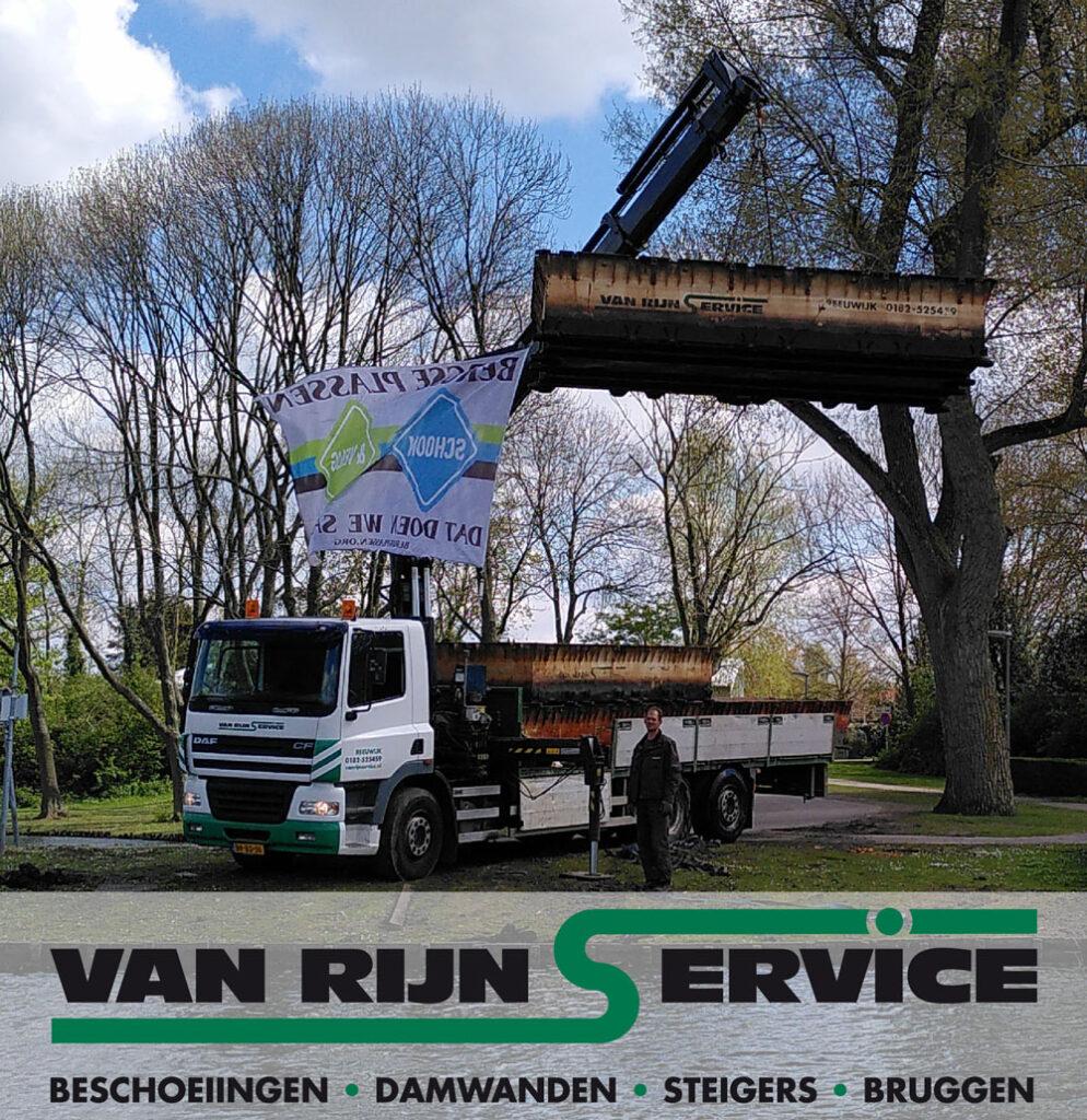 Van Rijn Service nieuwe vriend van de Stichting Bergse Plassen